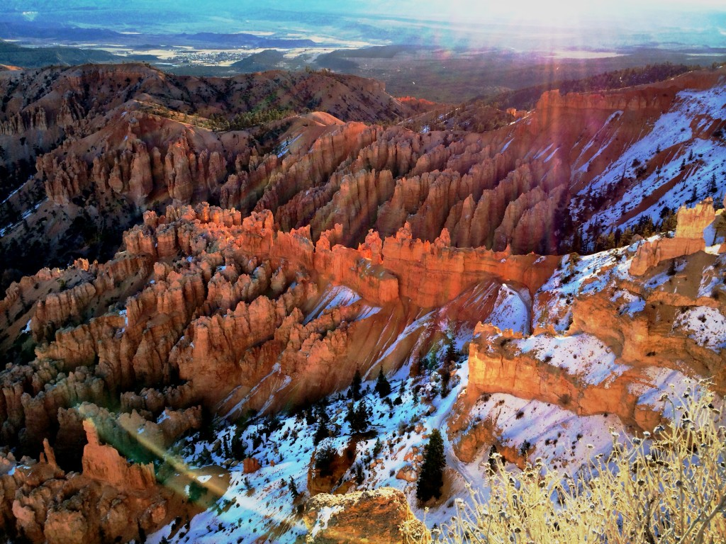 iPhone photograph of Bryce Canyon